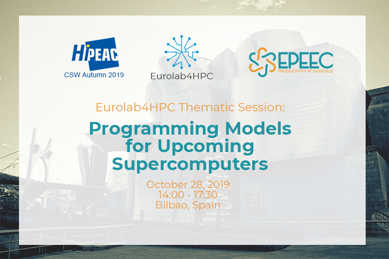 EPEEC at HiPEAC CSW19
